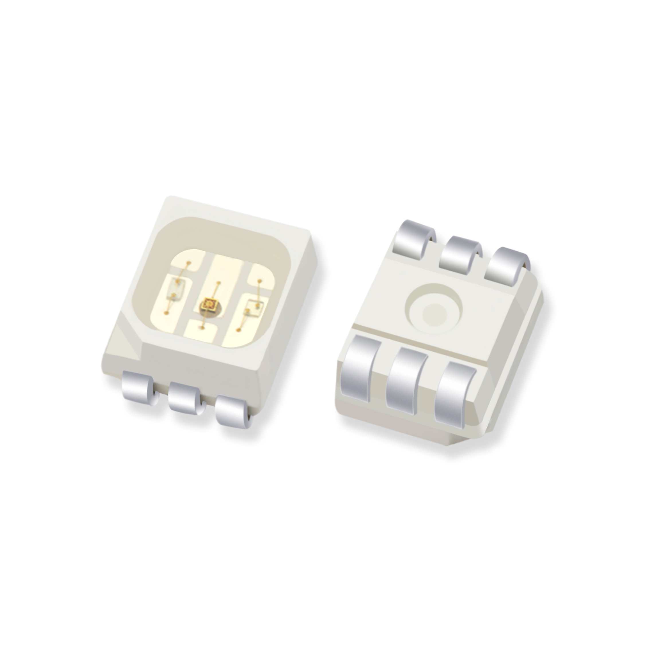 貼片3528RGB六腳(jiao)led燈珠(zhu)