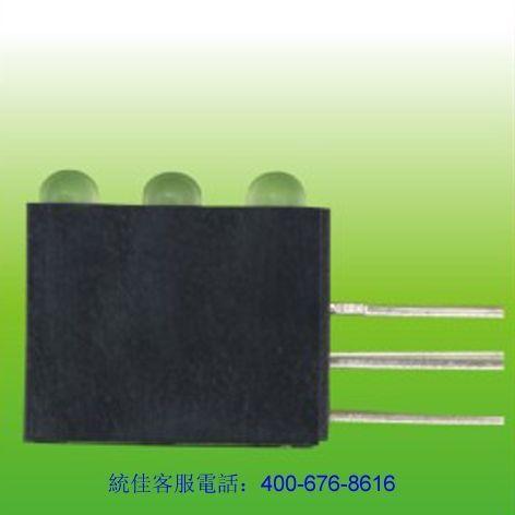 3連(lian)體帶座led燈珠(zhu)